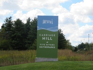 Carriage Hill MetroPark Entrance